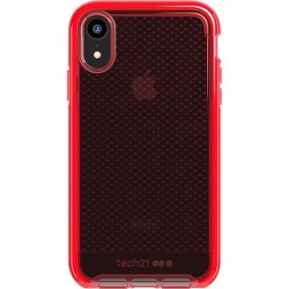 Tech21 Apple iPhone XR Evo Check Case - Rouge