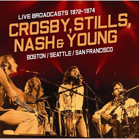 Nash   Stills Crosby &  Young - Live Broadcasts: 1972-1976 (CD) - image 1 of 1