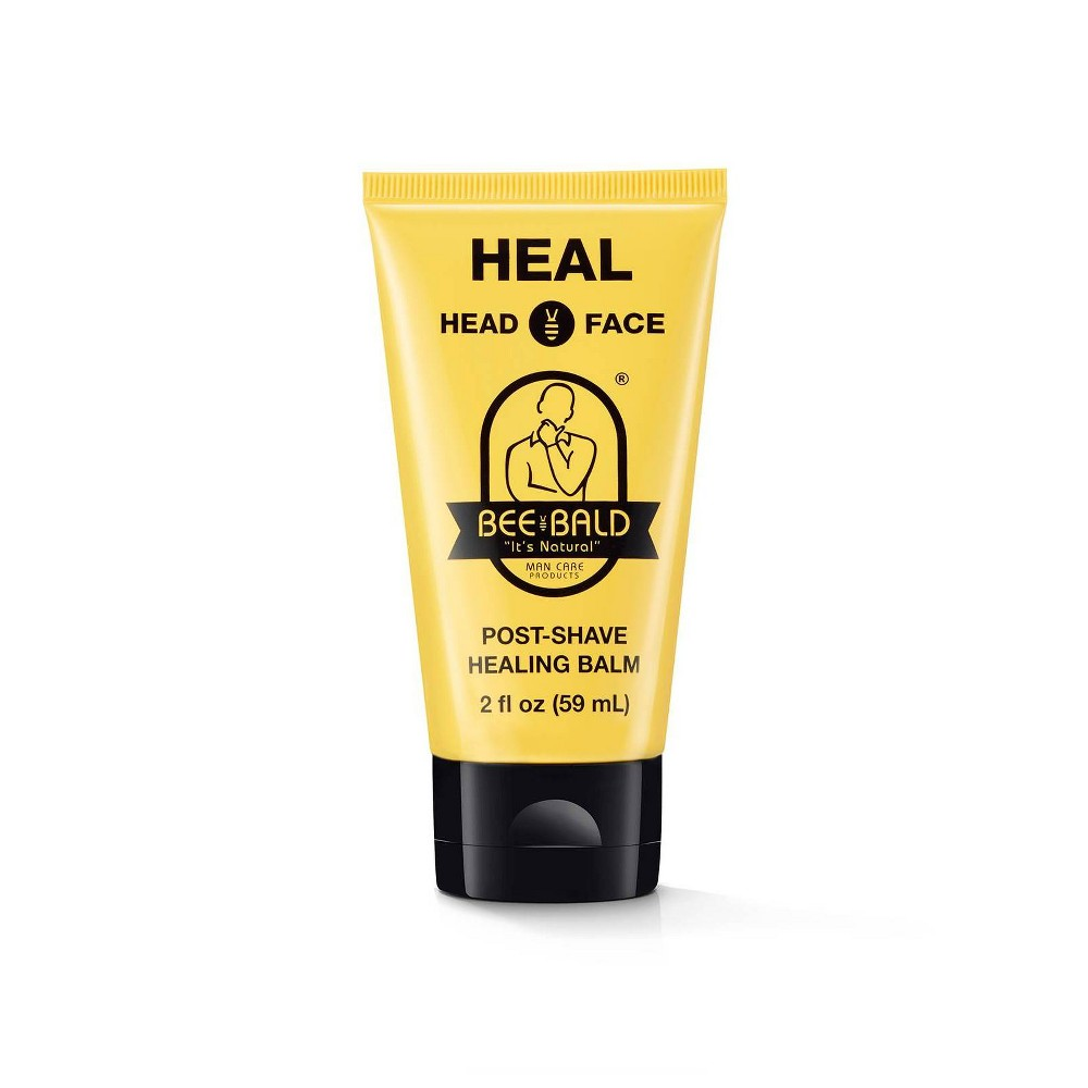 Image of Bee Bald Head And Face Post Shave Healing Balm - 2 fl oz