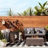 Outdoor Rug Worn Stripe- Threshold™ - image 3 of 4