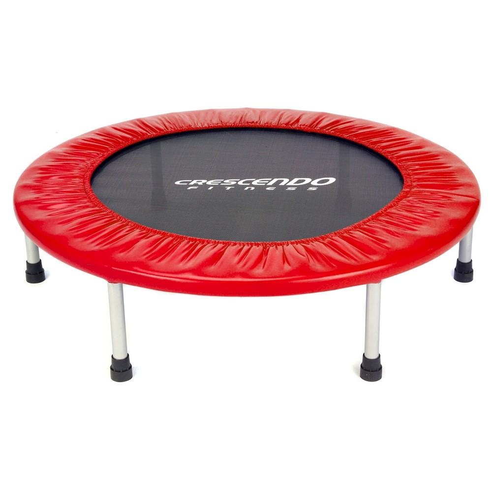 Crescendo Fitness Mini Jump Trampoline - Red (32), Multi-Colored