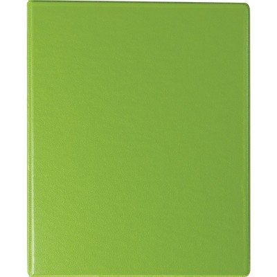 Staples Standard 1-Inch Round Ring Mini View Binder Chartreuse (26323) 55431/26323