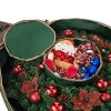 "Elf Stor 36"" Ultimate Holiday Christmas Wreath Storage Bag Green - image 4 of 4"