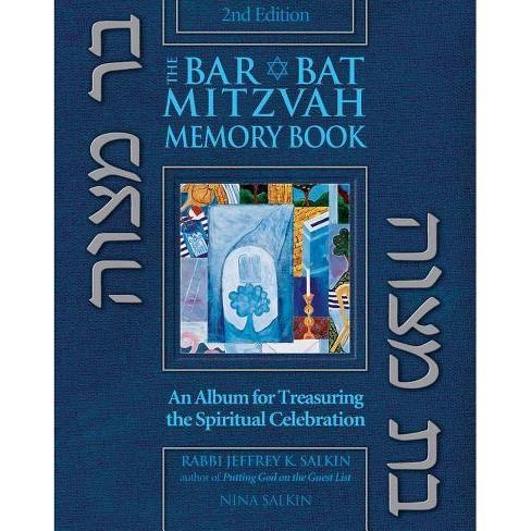 Bar/Bat Mitzvah Memory Book 2/E - 2 Edition by  Jeffrey K Salkin & Nina Salkin (Hardcover) - image 1 of 1