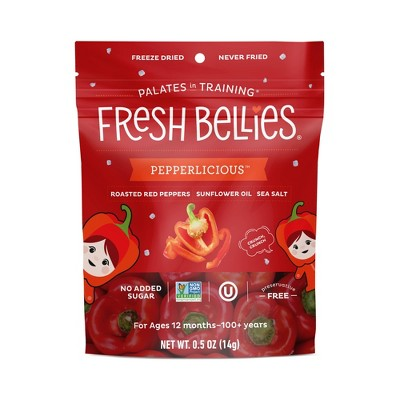 Fresh Bellies Pepperlicious Baby Snacks - 0.5oz