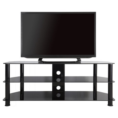 TV Stand with Cable Management -60'- Black - AVF