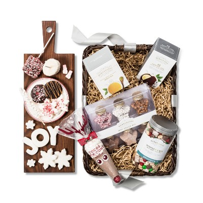 Hot Cocoa Bar Gift Basket Ideas Target