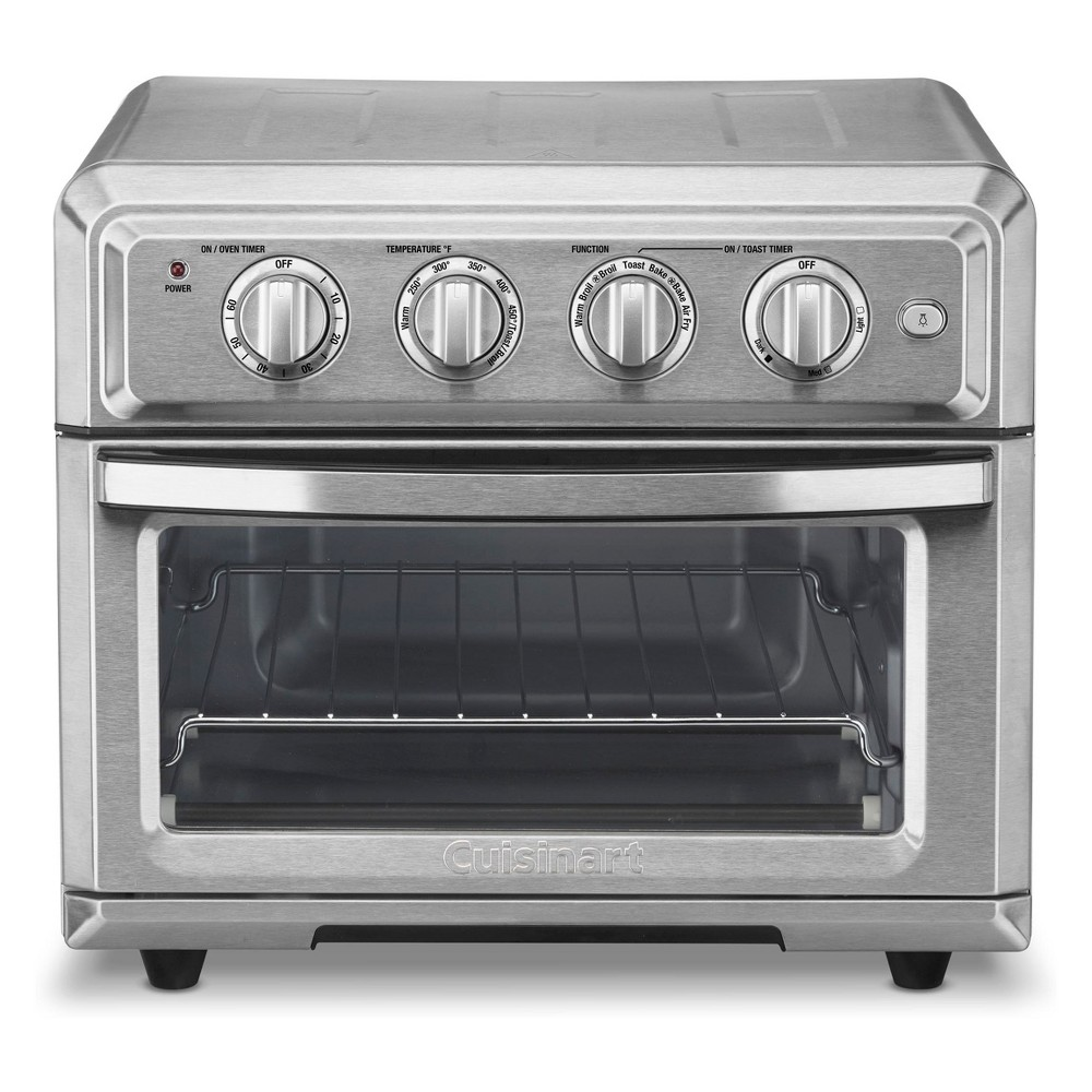 Cuisinart Air Fryer Toaster Oven - Toa-60TG, Silver