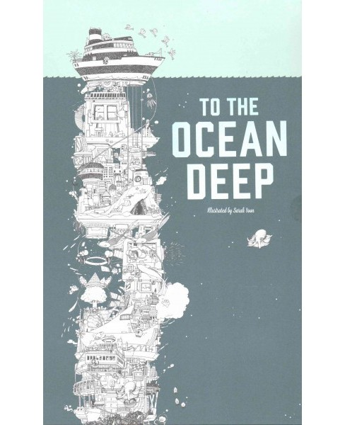 To the Ocean Deep : The Longest Coloring Book in the World (Paperback) - image 1 of 1