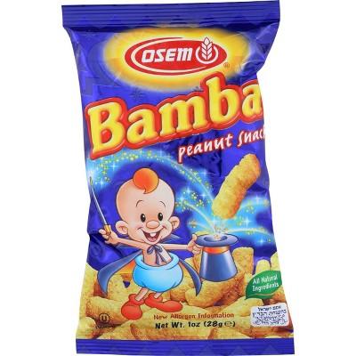 Osem Bamba Peanut Snacks - 1oz/24pk