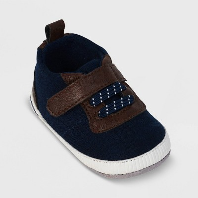 Ro+Me by Robeez Baby Boys' Casual Sneakers - Navy 6-12M