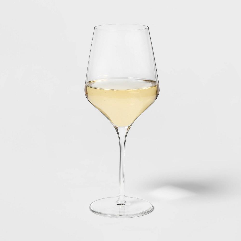16oz 4pk Glass Traditional White Wine Glasses Threshold 8482