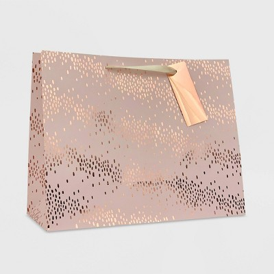 Scatter Dot Medium Gift Bag Pink - Spritz™