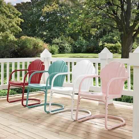 Tulip Retro Metal Chair Crosley Target