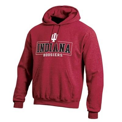NCAA Indiana Hoosiers Men's Cotton Hoodie