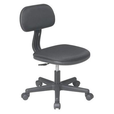 Task Chair Black   Osp Home Furnishings by Osp Home Furnishings