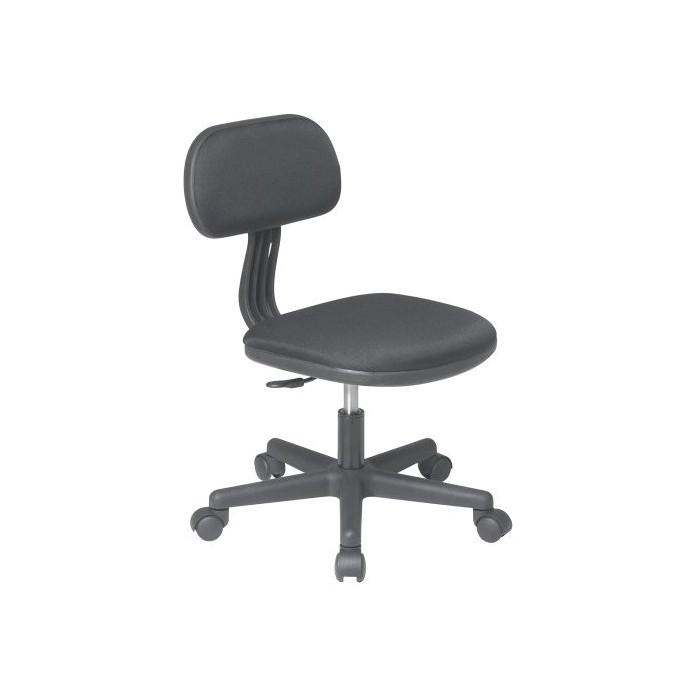 Task Chair Black - OSP Home Furnishings - image 1 of 5