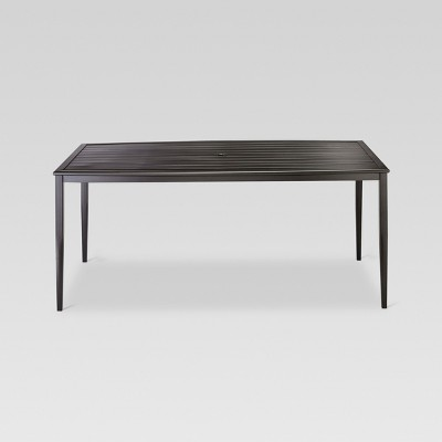 "Camden Metal 66"" Rectangular Patio Dining Table - Threshold™"