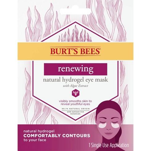 Burt's Bees Renew Natural Hydrogel Eye Mask - 1ct - image 1 of 3