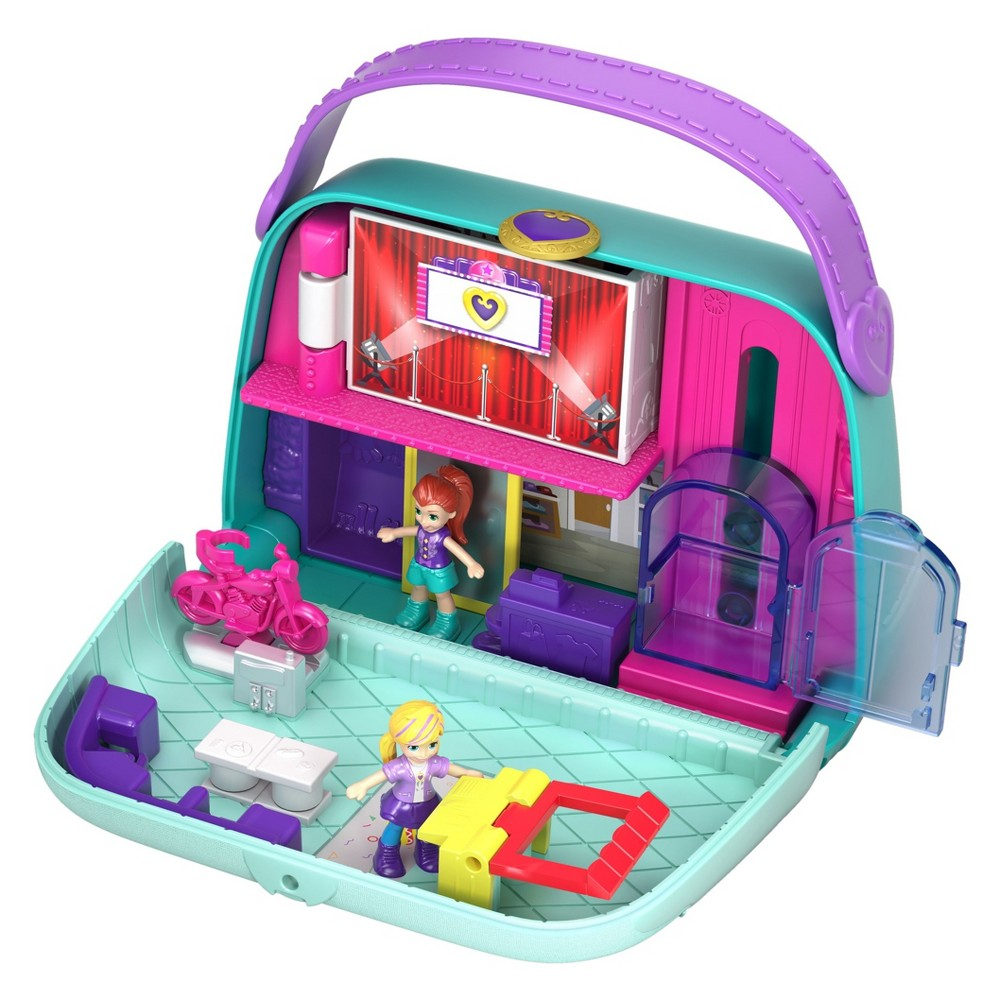 Polly Pocket Big Pocket World Mini Mall Escape Playset