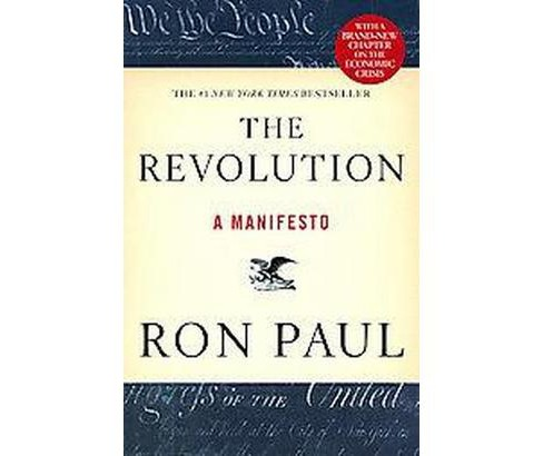 Revolution : A Manifesto (Paperback) (Ron Paul) - image 1 of 1