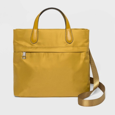 Mini Convertible Backpack - A New Day™ Yellow - image 1 of 4