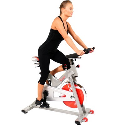 Sunny Health and Fitness (SF-B1110S)Indoor Cycling Bike - Silver