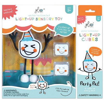 Glo Pals Party Pal Character & 6 Color Changing Glo Cubes