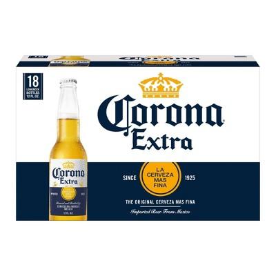 Corona Extra Lager Beer - 18pk/12 fl oz Bottles