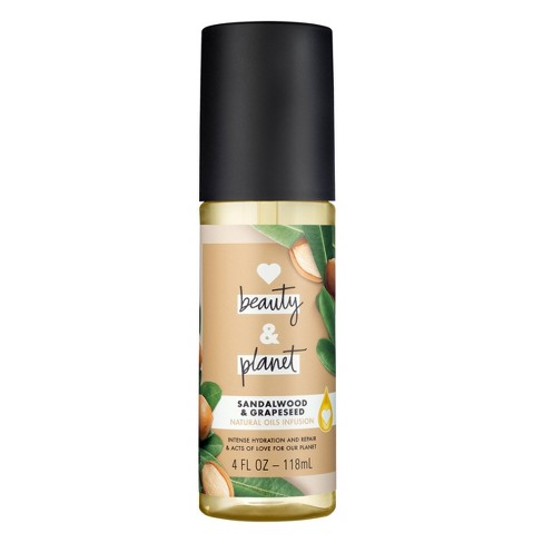 Love Beauty and Planet Sandalwood & Grapeseed Natural Oils Infusion Hair Oil - 4 fl oz - image 1 of 4