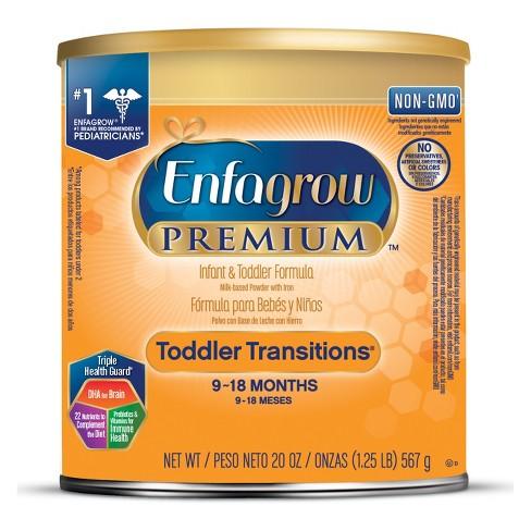 Enfagrow Toddler Transistions Powder Formula - 20oz - image 1 of 3