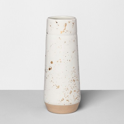 Vase Speckled White - Hearth & Hand™ with Magnolia