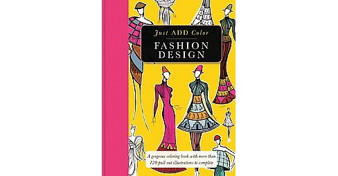 Fashion Design Adult Coloring Book - image 1 of 1