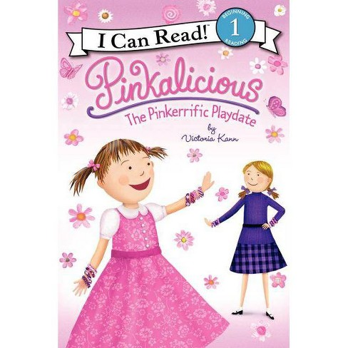 Pinkalicious: The Pinkerrific Playdate - (I Can Read! Pinkalicious - Level 1 (Hardcover)) (Hardcover) - image 1 of 1