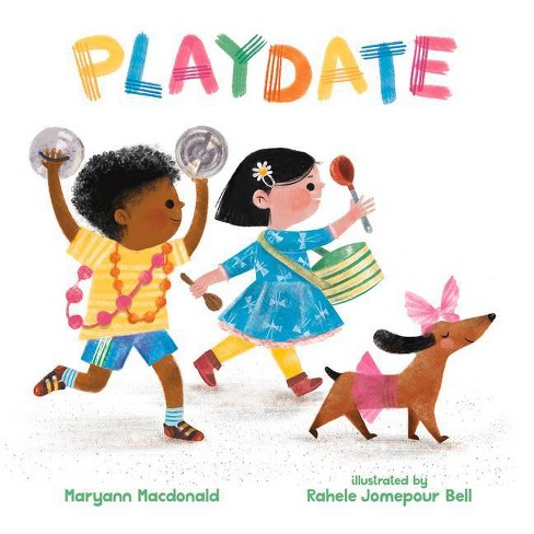 Playdate - by  Maryann MacDonald (Hardcover) - image 1 of 1