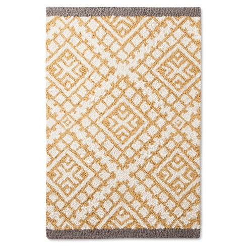 Wool Tufted - Yellow - (2'x3') - Threshold™ - image 1 of 2
