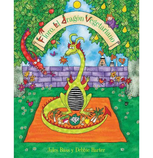 Floro, el dragon vegetariano/ Floro, The Vegetarian Dragon (Paperback) (Jules Bass) - image 1 of 1