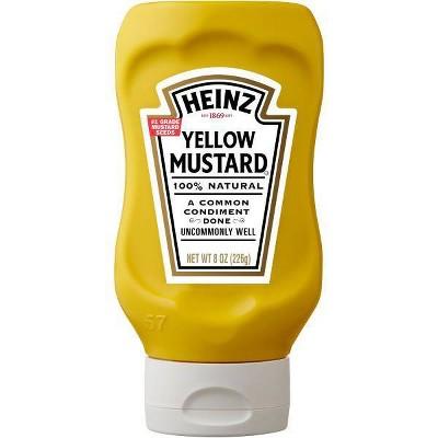 Heinz Yellow Mustard - 8oz