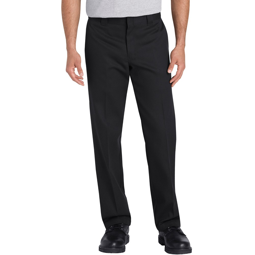Dickies Men's Flex Slim Tapered Pants - Black 38x30