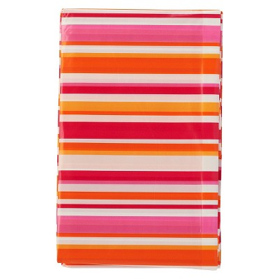 XLarge Striped Gift Bag Orange& Pink - Spritz™