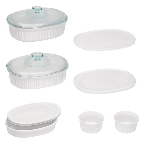 CorningWare 10 Piece Bake Set - French White - image 1 of 1