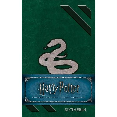 Harry Potter Slytherin Ruled Pocket Journal - by Insight Editions (Hardcover)