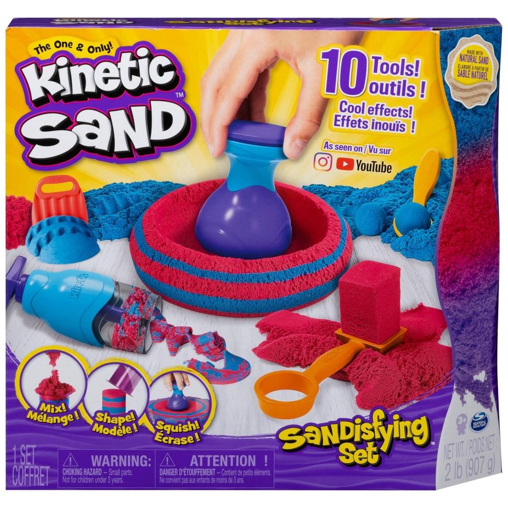 Kinetic Sand Sandisfying Set With Tools