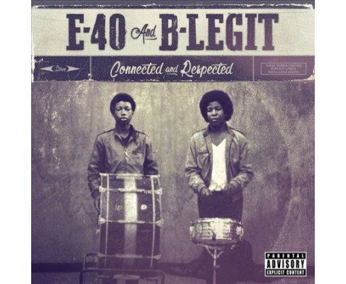 E-40 - Connected And Respected (CD) - image 1 of 1