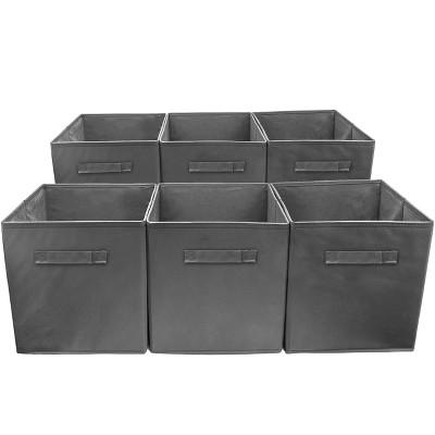Sorbus Cube Storage Box Gray