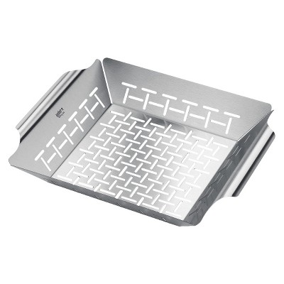 Weber® Style™ Stainless Steel Vegetable Basket