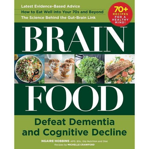 Brain Food - by  Ngaire Hobbins & Michelle Crawford (Hardcover) - image 1 of 1
