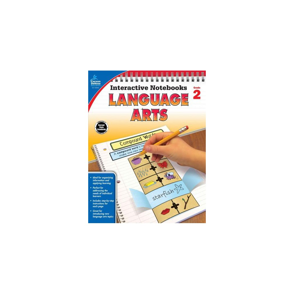 Language Arts Grade 2 (Paperback)