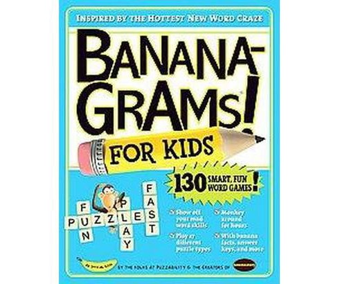 BananaGrams for Kids (Paperback) by Robert Leighton - image 1 of 1