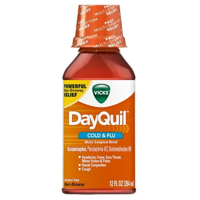 Cold & Flu: DayQuil Cold & Flu Liquid